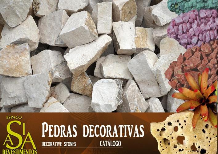 Catálogo Pedras decorativas ( Nacionais)