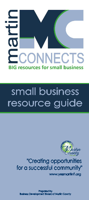 Martin Connects - Small Business Resource Guide