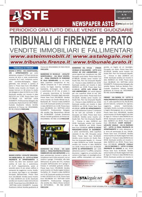 Firenze Prato luglio 2014