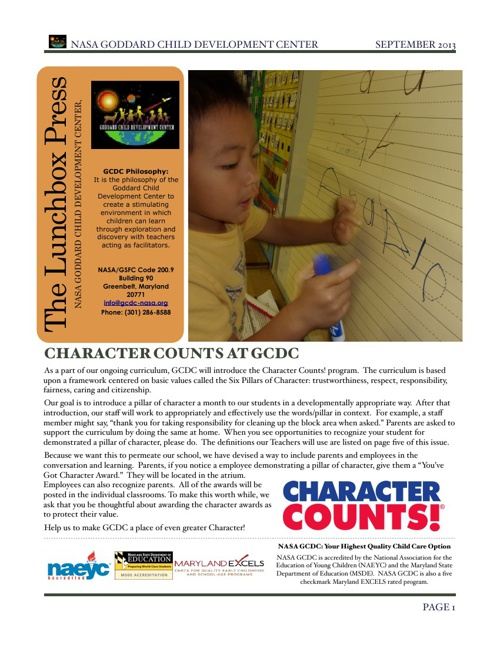 September 2013 Edition of The Lunchbox Press