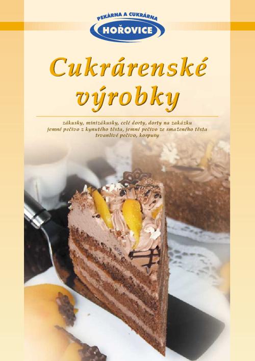 Katalog - Cukrárenské výrobky