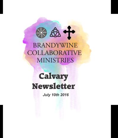 Calvary Newsletter