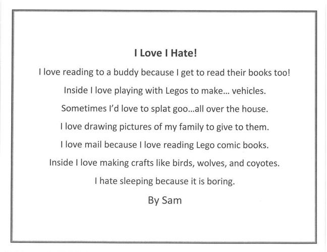 Copy of I Like Poems