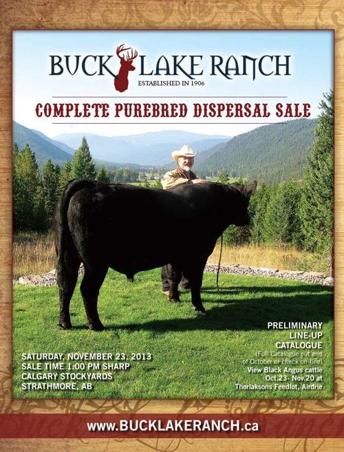 Buck Lake Ranch Fall Catalogue