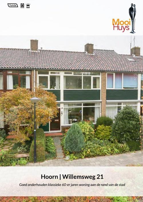 TE KOOP: Willemsweg 21 Hoorn