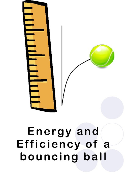 Energy and Efficiency of a Bouncing Ball