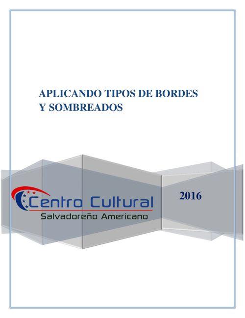 BORDES Y SOMBREADOS PARRAFO Y TEXTO