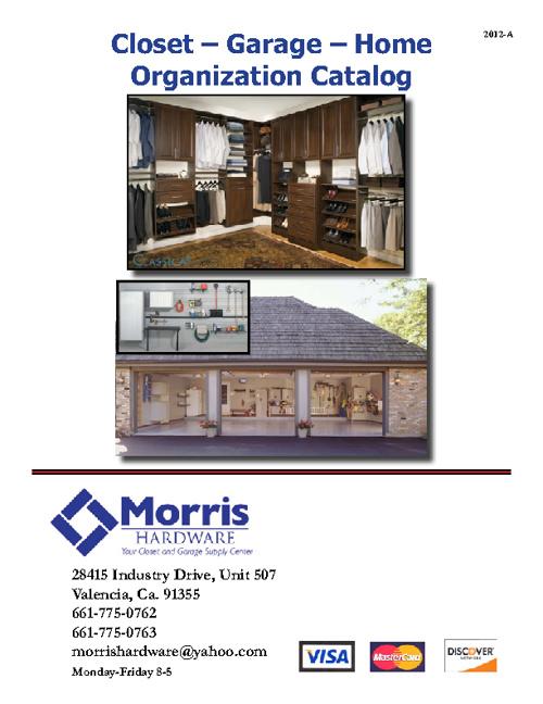 Morris Hardware Catalog 2012