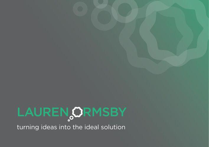 Lauren Ormsby - Portfolio