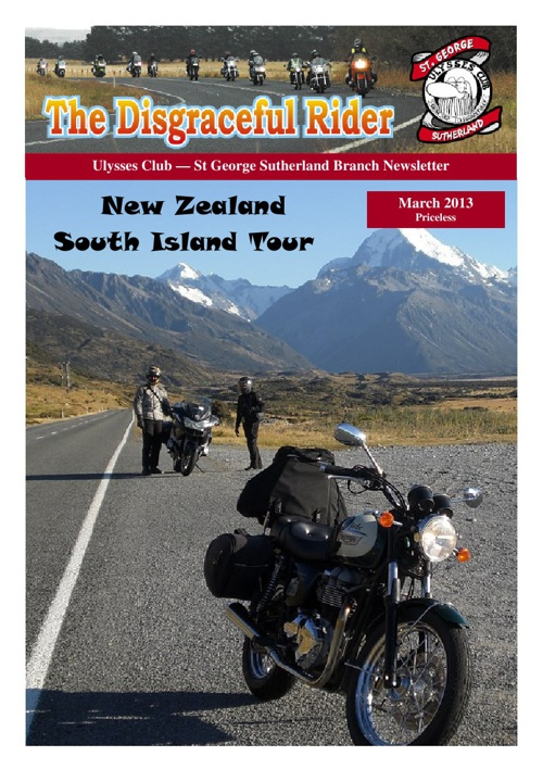 The Disgraceful Rider March 2013