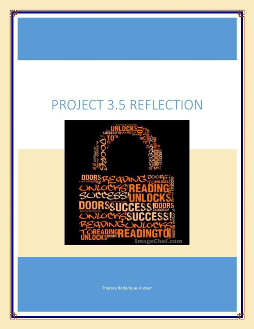 Reflection Project 3.5 for FlipSnack