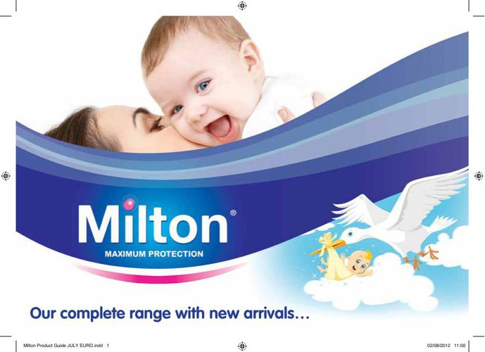 MIlton - No.1 Baby Hygiene Product Household Brand in France & U