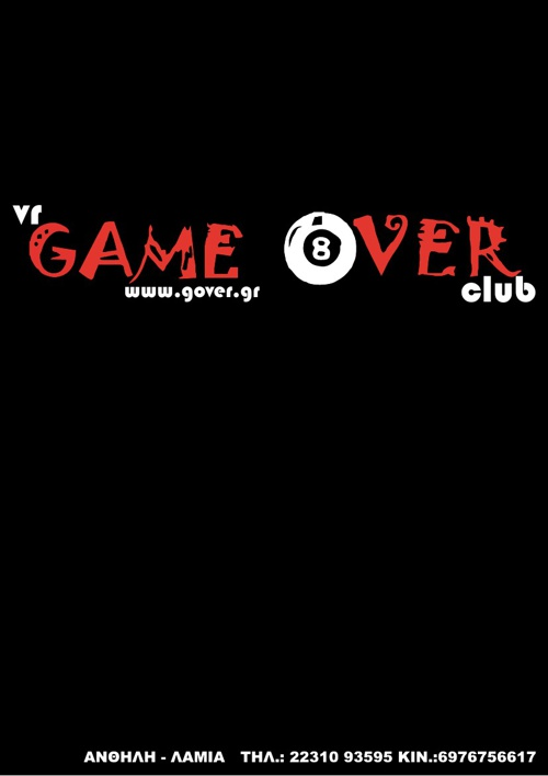 V.R. Game Over Club