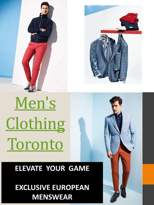 Men's Clothing Toronto