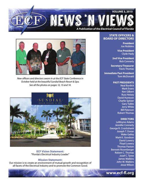 2014 & 2015 ECF News n Views