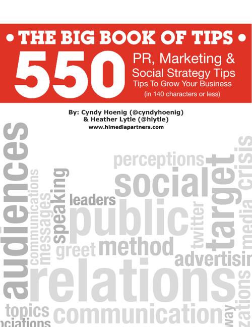 550 Marketing Tips