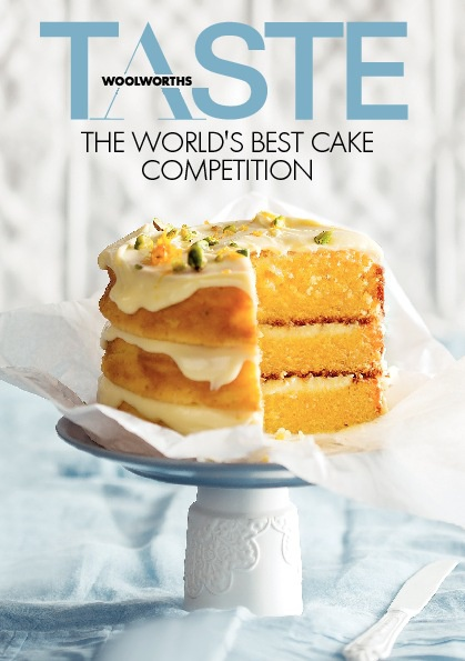 TASTE's downloadable cake competition booklet