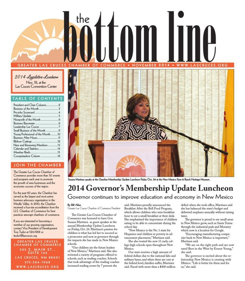 The Bottom Line November 2014