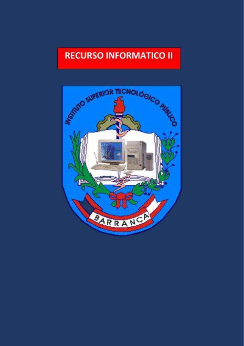 RECURSOS-INFORMATICOS EN EL INTERNET II