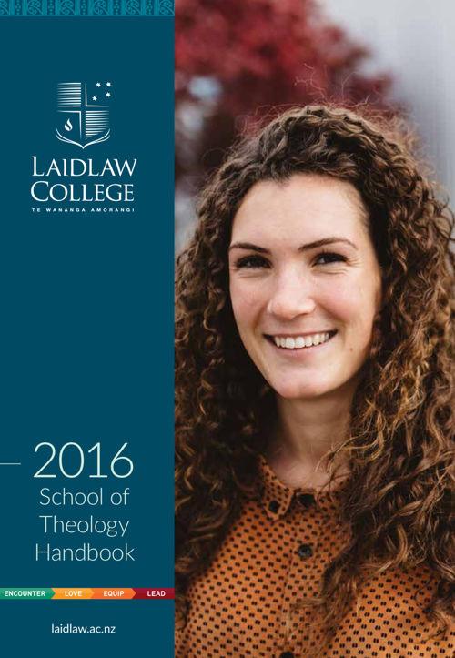 Theology Handbook 2016