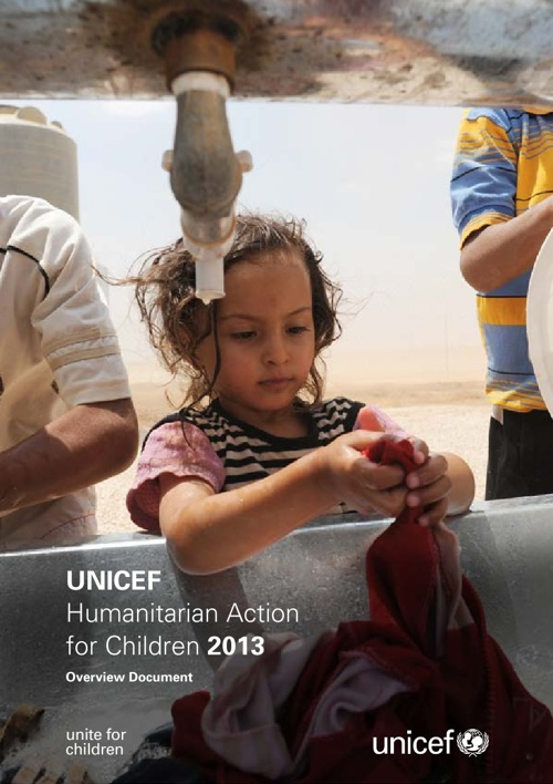 UNICEF Humanitarian Action for Children 2013