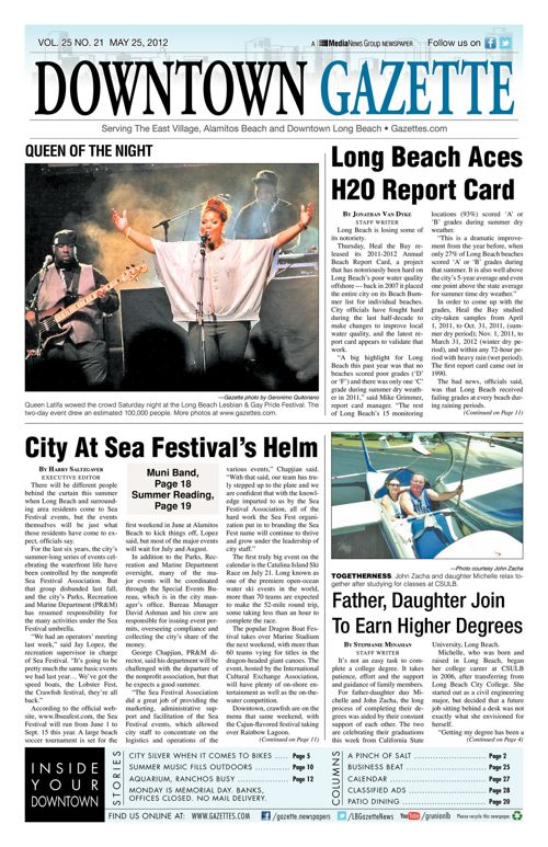 Downtown Gazette  |  May 25, 2012