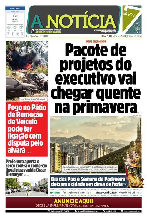 Jornal A Notícia - Edição 297