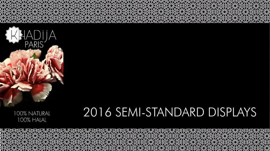 KHADIJA Semistandard display portfolio