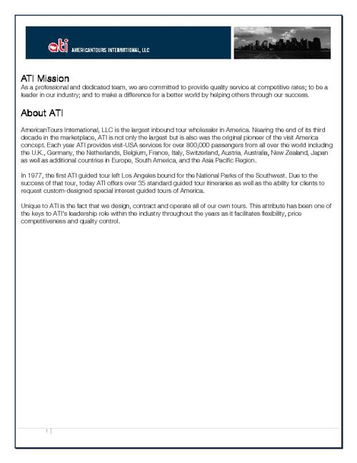 ATI Handbook Sample