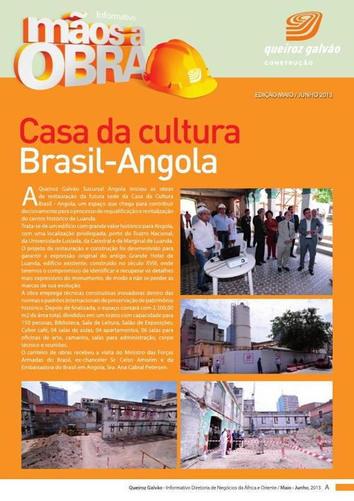 Informativo Mãos a Obra - Queiroz Galvão - Maio/junho