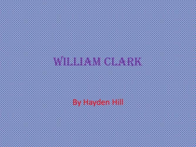 William Clark1