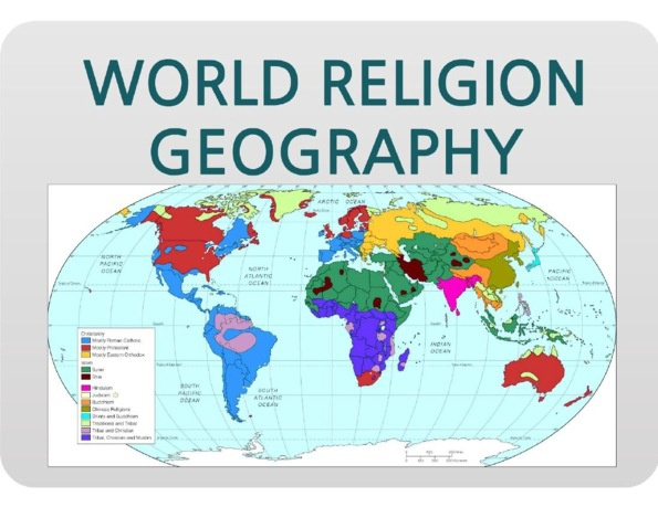 World Religions - Geography of the World