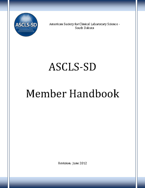 ASCLS-SD Member Handbook