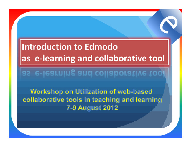 - workshop elearning -