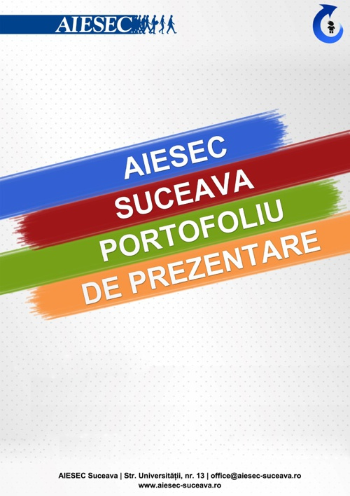 Mapa de prezentare - AIESEC Suceava