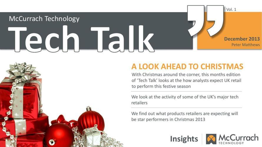 Tech Talk Dec 2013