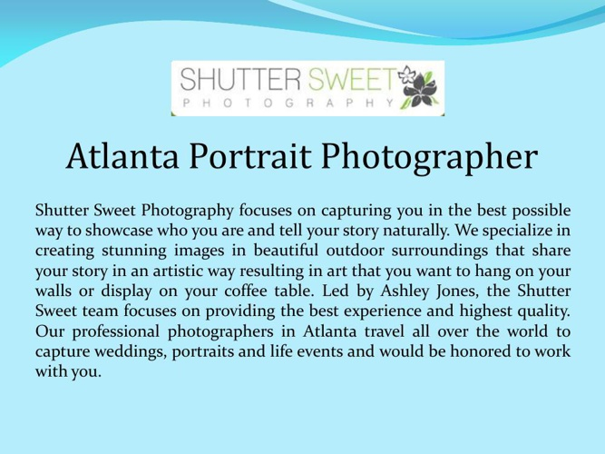 Atlanta Portrait Photographer