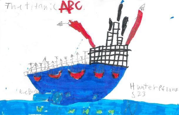 The Titanic ABC by Hunter