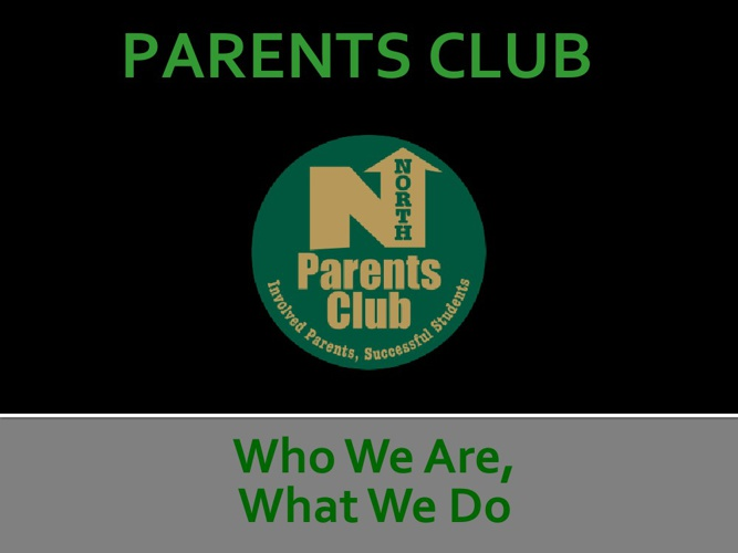 Grosse Pointe North High School's Parent Club