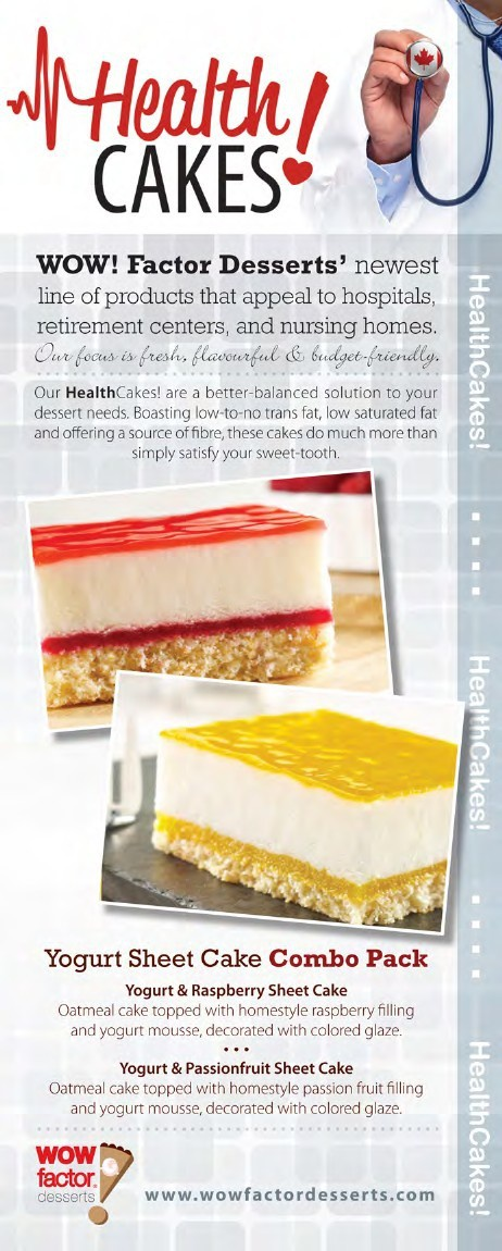 HealthCakes! by WOW! Factor Desserts