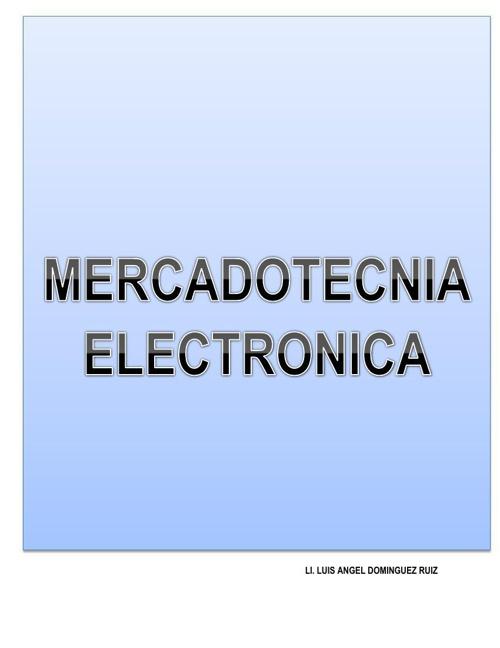 MATERIAL-MERCADOTECNIA ELECTRONICA