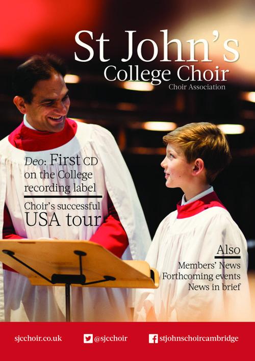 Choir Association Newsletter May 2016
