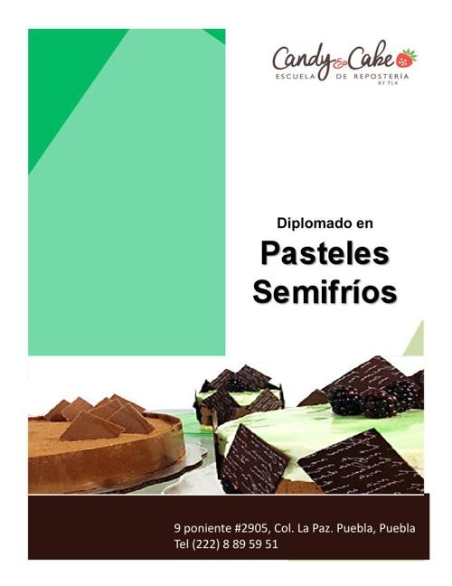 Diplomado de Pasteles Semifríos 20 horas 2014