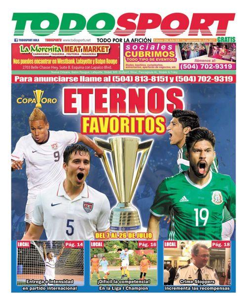 Todosport - Julio Primera Edicion 2017