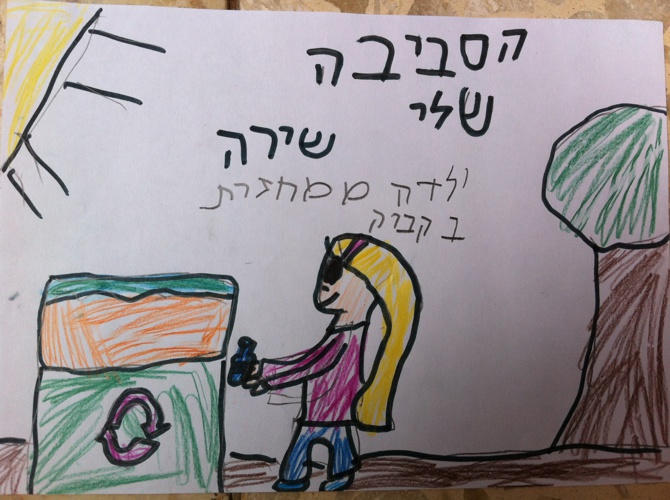 תוצרי הילדים מפעילות על איכות הסביבה