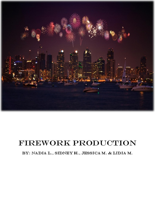 Firework Production