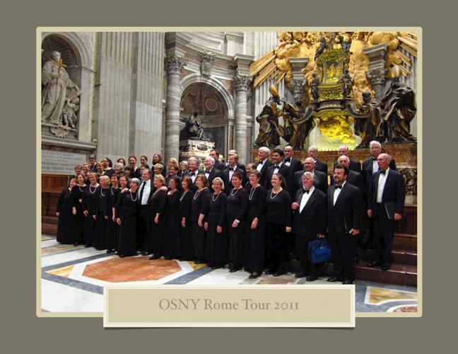 OSNY Rome Tour 2011