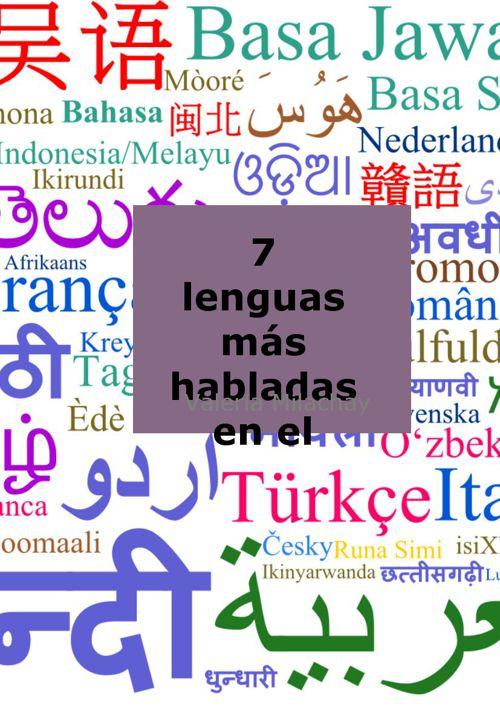 Lenguas más habladas