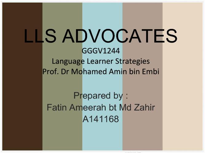 Top 5 LLS Advocates