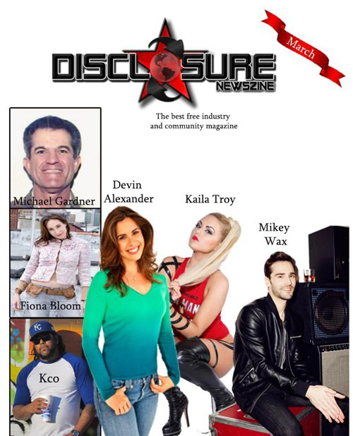 Disclosure Newszine March 2015 Issue